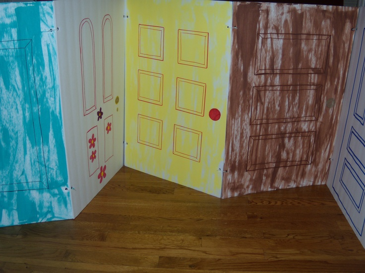 Monsters Inc Party   Create/decorate Doors