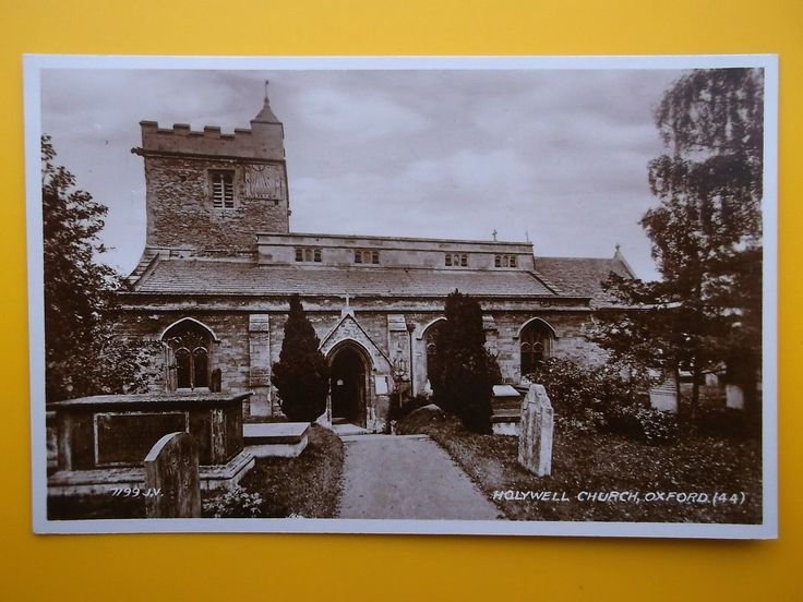 Chapel of St Cross Holywell Church OXFORD RP 1934 Standard Size in Collectables, Postcards, Topographical: British   eBay
