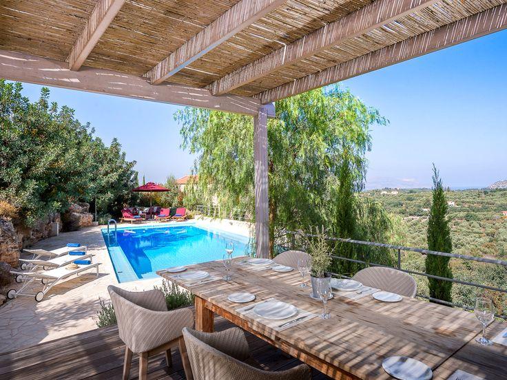 #Bleverde, a wonderful olive grove estate with to luxury holiday #villas! Ready to #Book: http://www.cretetravel.com/hotel/bleverde-villas/ #Chania #Houses #Private #Pool #Apokoronas #Region #Gavalochori #Village