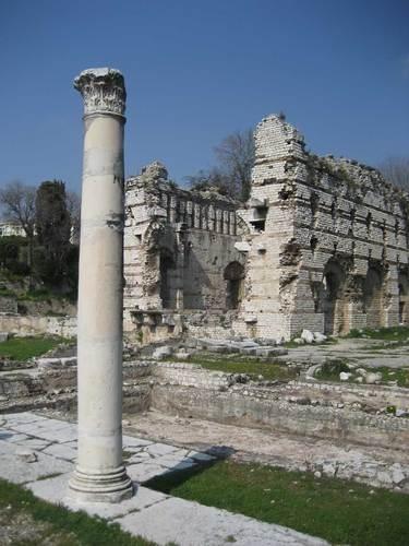 Rzymskie ruiny, Cimiez