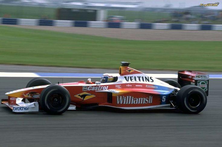 1999 GP Wielkiej Brytanii (Silverstone) Williams FW21 - Supertec (Alessandro Zanardi)