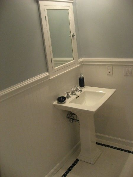 Bathroom Projects   Part 1   Ceramic Tile Advice Forums  17 best Chair rail images on Pinterest   Bathroom ideas  Bathroom  . Tile Bathroom Remodeling Part 1. Home Design Ideas