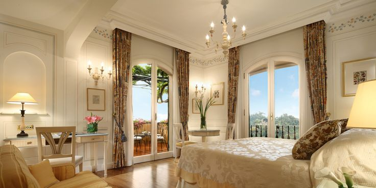 Enjoy breathtaking views of the glistening bay from the balcony