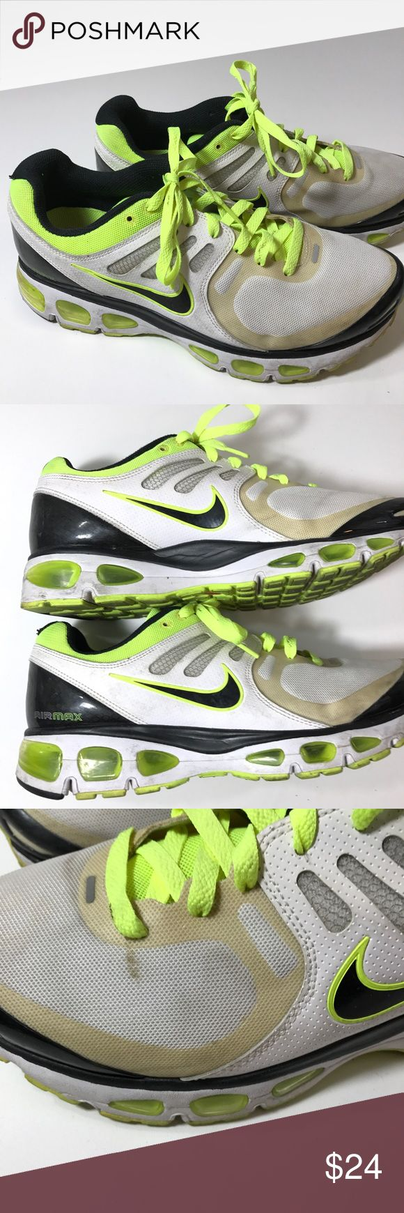 NIKE AIR MAX Tailwind 2 MENS SHOE SNEAKER SIZE 8.5 Has some wear on the top and spots please see photos for close up and overall condition   Mens 8.5 Nike Shoes Sneakers
