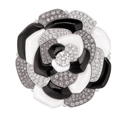 Broche Contraste de Camélia Chanel Joaillerie