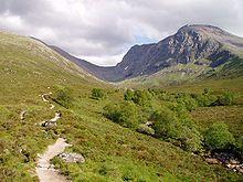 Ben Nevis (1345 m) cima più alta della Scozia e dell'intera Gran Bretagna