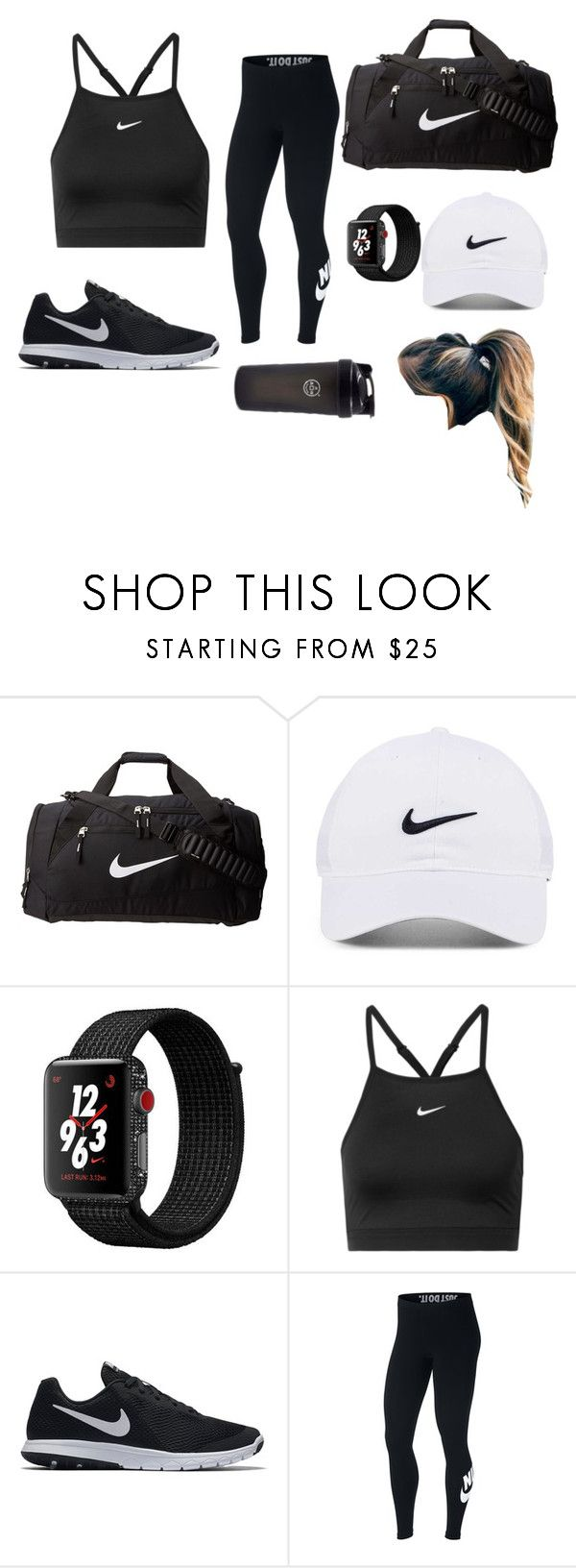 """Nike"" by evelynnn-nn on Polyvore featuring NIKE"