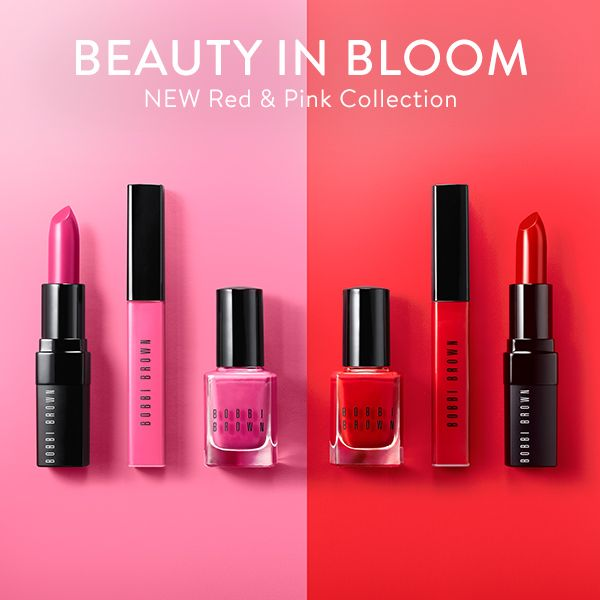 The freshest shades for lips and nails are here—meet the NEW Red & Pink Collection.