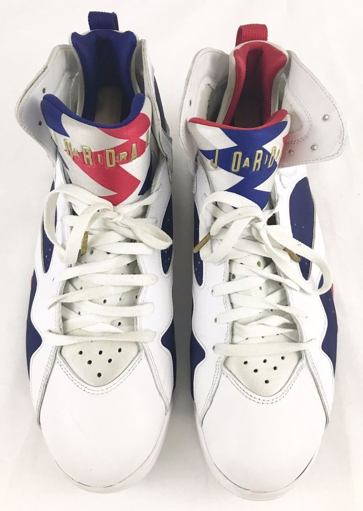a6c78e55e2d5 Nike Air Jordan 7 Retro USA Olympic Alternate Tinker 304775-123 US Mens  Size 15  fashion  clothing  shoes  accessories  mensshoes  athleticshoes   ad (ebay ...