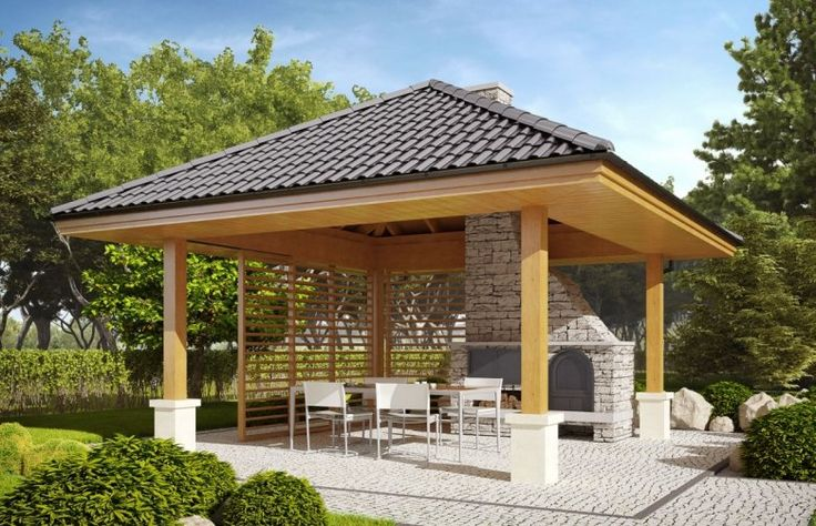 Altana A1 to idealne miejsce dla osób, które chcą spędzić czas z rodziną, zrelaksować się. Elementem wyróżniającym się jest dekoracyjny grill.