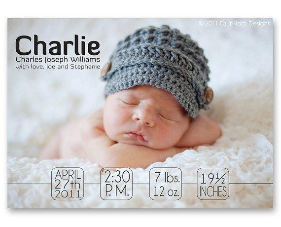 10 images about geboortekaartjes – Birth Announcement Website