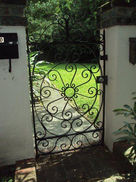 Antique Wrought Iron Gates of Charleston, South Carolina