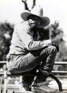 Charles Sampson (born July 2, 1957, in Los Angeles) was the first Black cowboy to win a World Title in the PRCA. Career wins included bull riding at the Turquoise Circuit Finals in 1985-86 and 1993, the Sierra Circuit in 1984, the Calgary bonus round twice, the George Paul Memorial twice, Pendleton (Ore.), and Salinas (Calif.). Sampson retired at the 1994 Dodge National Circuit Finals Rodeo.