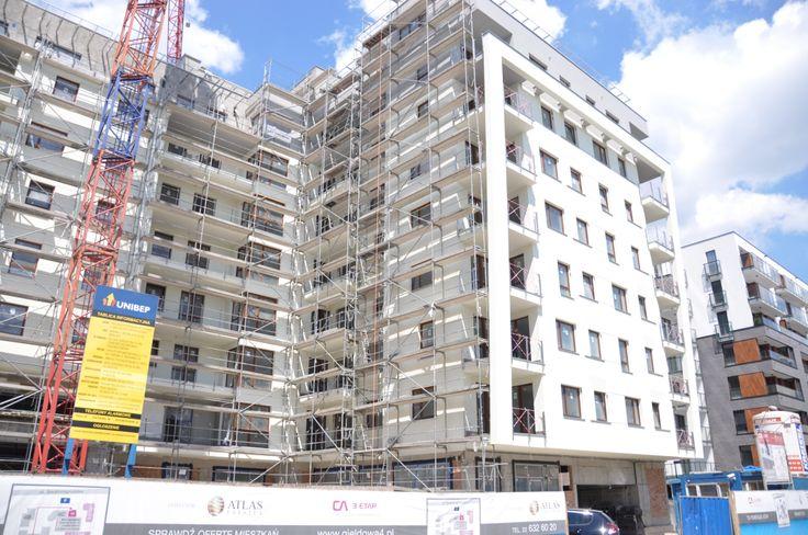 Budowa 3. etapu Capital Art Apartments - czerwiec 2014 r.