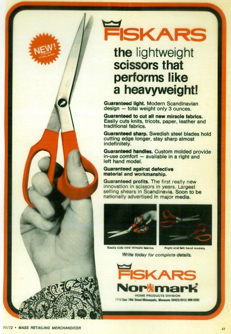Fiskars advertisement