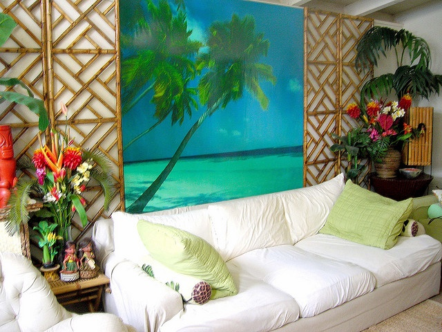 Tropical Living Room! Tropical StyleTropical DecorTropical Living RoomsRoom  InteriorInterior ...