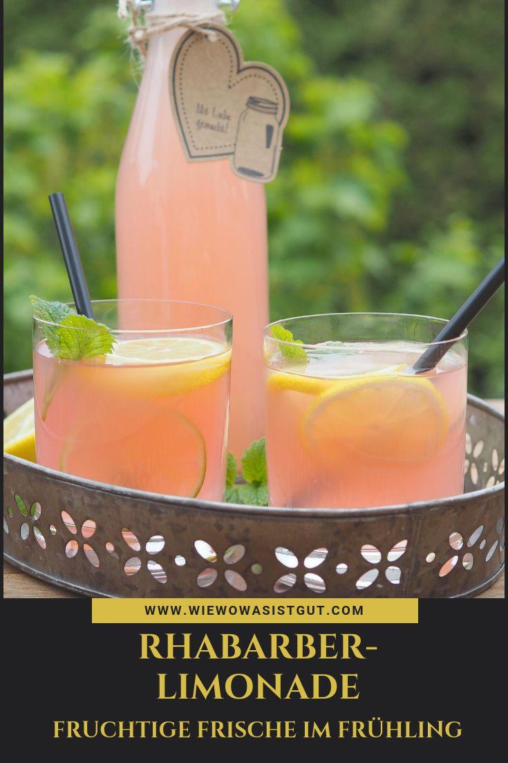 Rhubarb lemonade   – Abnehmen – Rezepte und Tipps | Gruppenboard
