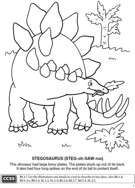 Boost Dinosaurs Coloring Book Dover Publications