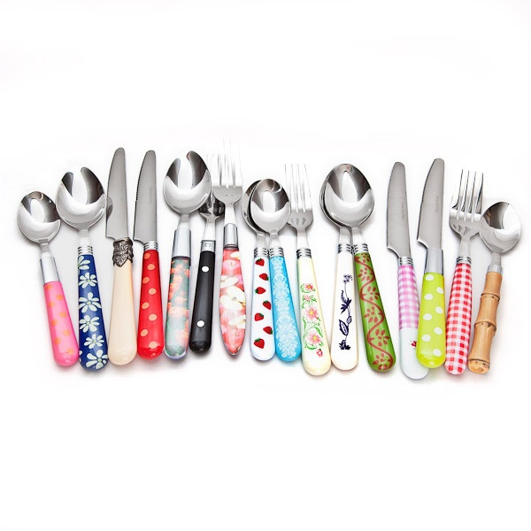 16 Piece Cutlery Set - Mix and Match - really cute from glampercamper.co.uk