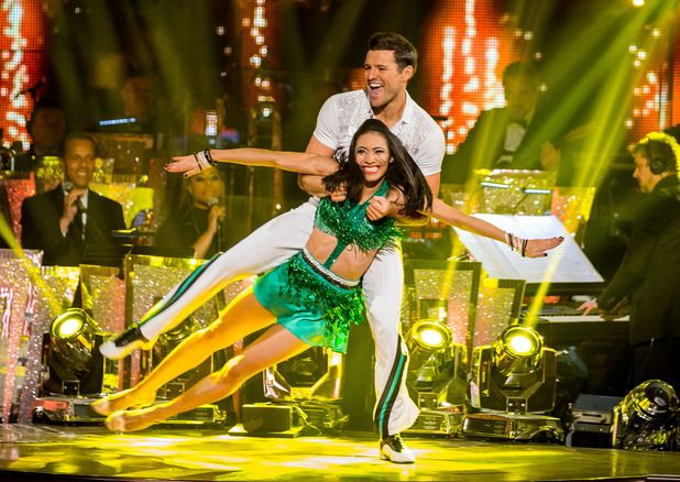 Karen Hauer and Mark Wright on Strictly Come Dancing 2014: Week Thirteen