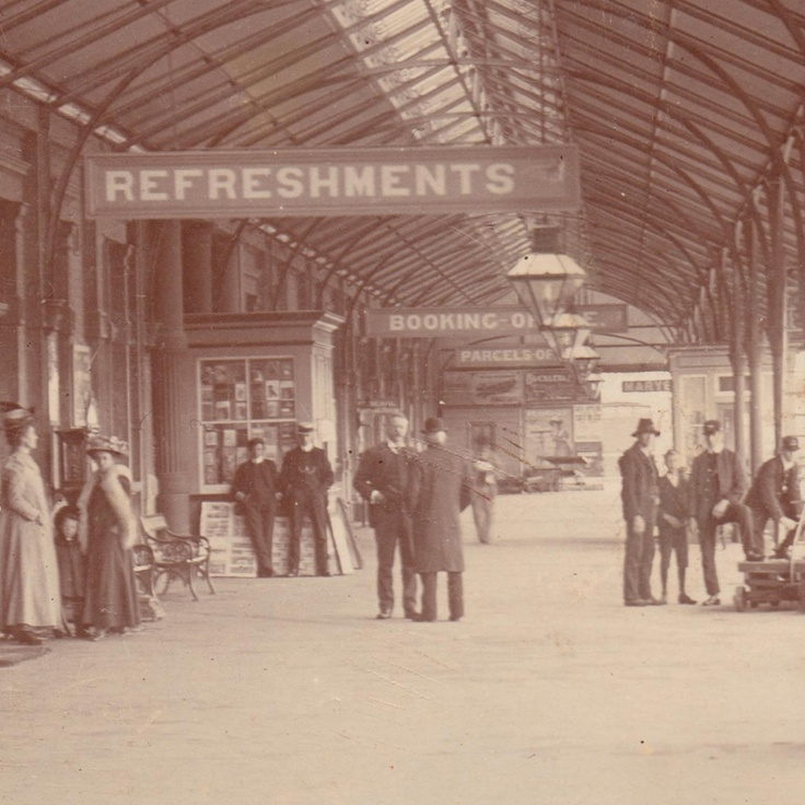 Railway Station Platform, Maryborough
