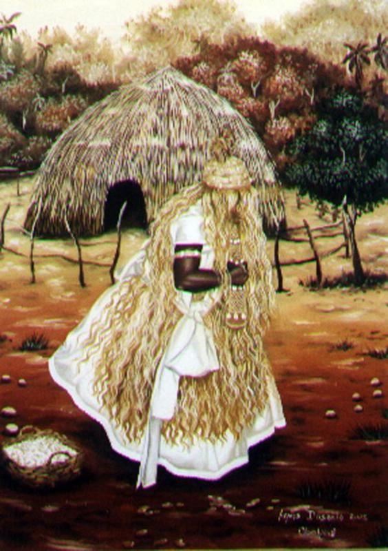 Obaluaiyê, orixá das doenças epidérmicas e pragas, orixá da cura. / Omolu, orixá da transformação. linhadasaguas.com.br