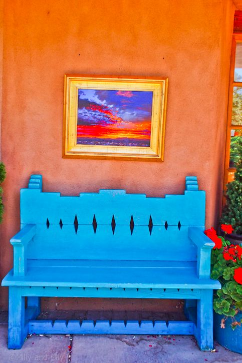 Santa Fe Style Living Room: 190 Best Images About New Mexico Color On Pinterest