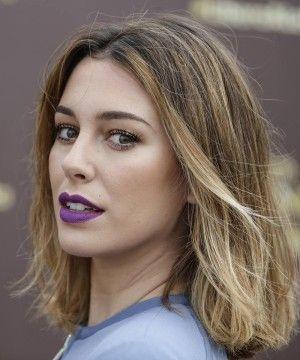 Blanca Suárez impone los labios violetas como tendencia de belleza para este verano