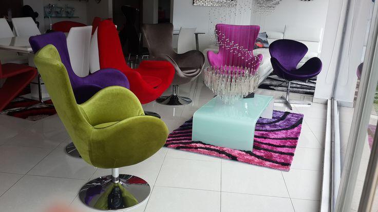 NUEVA COLECCIÓN... Sillas Auxiliares los mejores diseños y colores de la tendencia para crear espacios inspiradores!!!