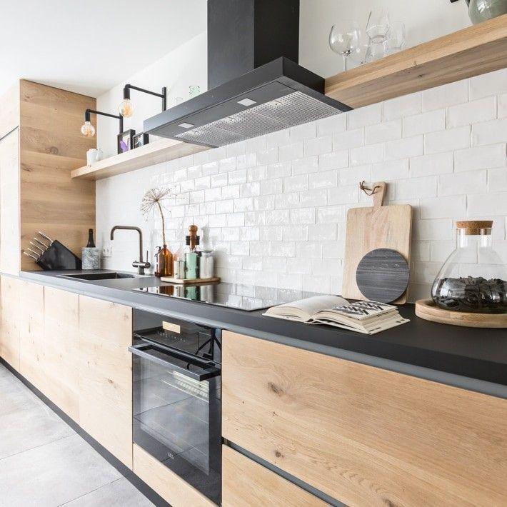 Houten Wandplank Keuken.Wandplank Keuken In 2019 Keuken Ideeen Eetkeuken En
