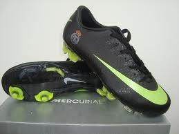 Botas de Real Madrid Nike Mercurial Superfly III FG Negro Verde