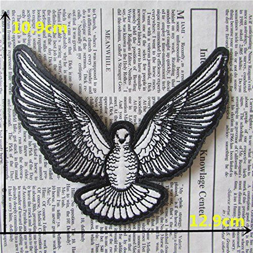 FairyTeller Hot Sell Large Size Patch Hot Melt Adhesive Applique Embroidery Patch Diy Clothing Accessory Patch C2090-C860 *** You can find more details by visiting the image link.