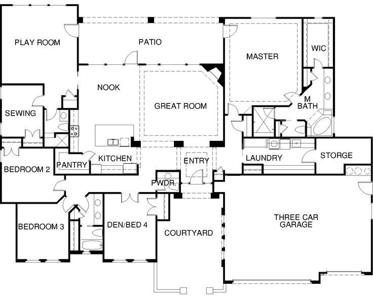7 best Sarasota Window Door Design Center images – Custom Homes By Jeff Floor Plans