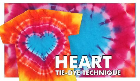 Heart Technique- let sit over night, then rinse in sink to remove any extra dye and put in washer. THEN can remove zip tie and put in dryer