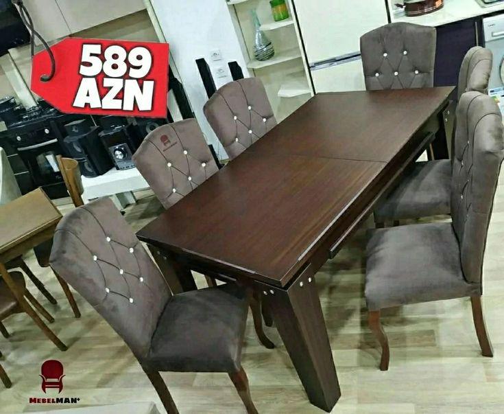 Masa Və Oturacaq Dəsti Modern In 2021 Furniture Home Decor Dining Bench