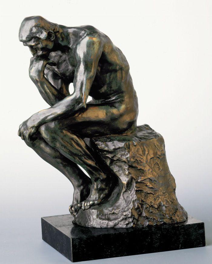 The Thinker - Der Denker Auguste Rodin... One Day