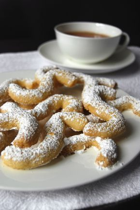 eat in my kitchen ° Maltese Sunday Tea Time Cookies with a shot of Vermouth