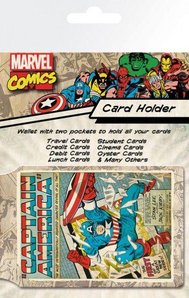 Marvel Kapitan Ameryka Retro - okładki na dokumenty i karty