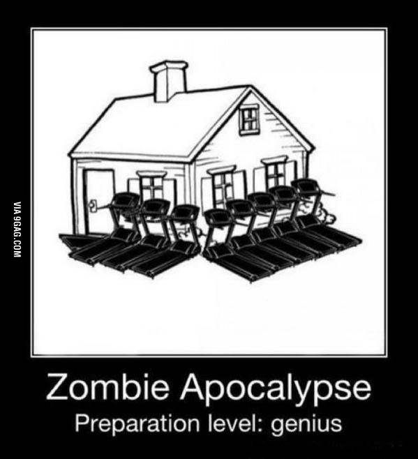 The zombies will never know - 9GAG