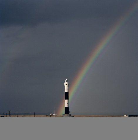 Peter Marlow/Magnum Photos    Lighthouse at Dungeness, coast of Kent, Great Britain, 2006