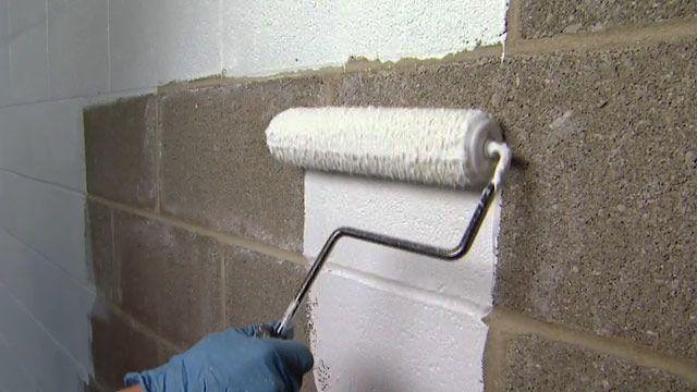 Brilliant A Proseal Basement Waterproofing To Inspire You Concrete Block Walls Waterproofing Basement Walls Concrete Basement Walls