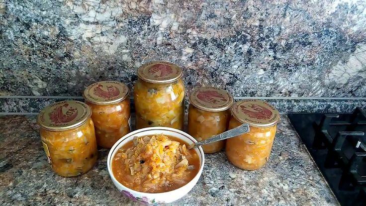 Вкусный рецепт солянки с грибами//Заготовка солянки для зимы