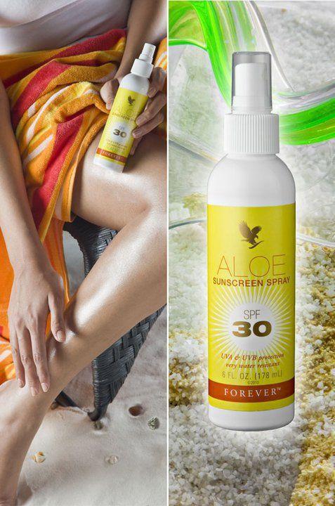 Aloe Spray Ecran Solaire