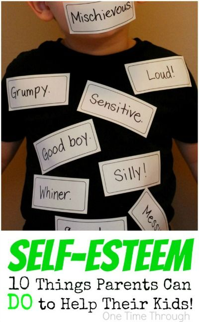 """""""Self-Esteem: 10 Things Parents Can Do to Help"""" Self-esteem is a controversial topic, but this article nails it x10."""