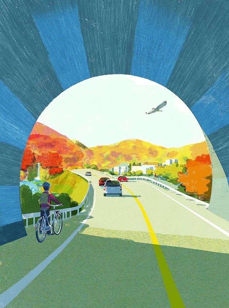 Beautiful Illustrations by Tatsuro Kiuchi - JOQUZ