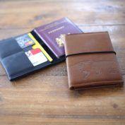 Paspoort cover deluxe | reis in stijl met dit leren paspoorthoesje