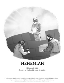 A SharefaithKids Sunday School Lesson On Nehemiah Who Left Babylon To Return Jerusalem And Rebuild Coloring PagesSunday