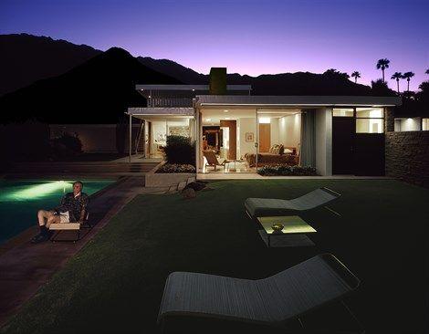 Kaufmann House, Palm Springs, Richard Neutra, California. © Juergen Nogai / Julius Shulman