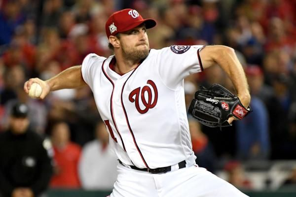 Washington Nationals ace Max Scherzer earned his third Cy Young Award by beating out teammate Stephen Strasburg and Los Angeles Dodgers ace…