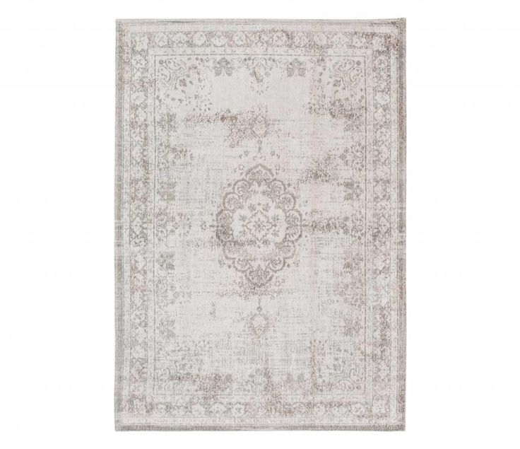 The central pattern or medallion of this rug is an ancient classic. Weaving-in distressed areas and the erasing of pattern sections in this design allows you to incorporate a piece of history in your home. While the addition of delicate colour accents makes the rug both contemporary and stylish.Woven on jacquard Wilton looms using the finest cotton chenille, each beautiful rug has multiple layers of texture, distressed areas and intricate stitching detail to give a true 'vintage' look.The…